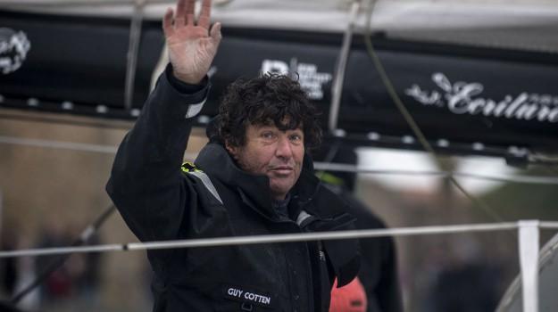 Jean Le Cam en navigation