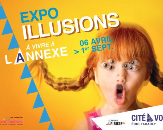 affiche exposition illusions