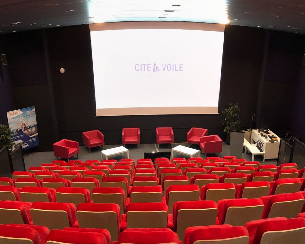 Location auditorium cite voile lorient