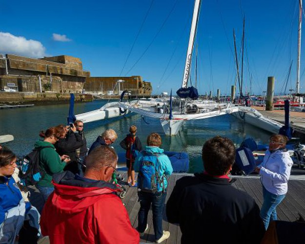 lorient visite guidee pontons pole course large