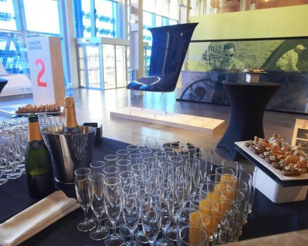 cocktail restauration dans le musée cité de la voile